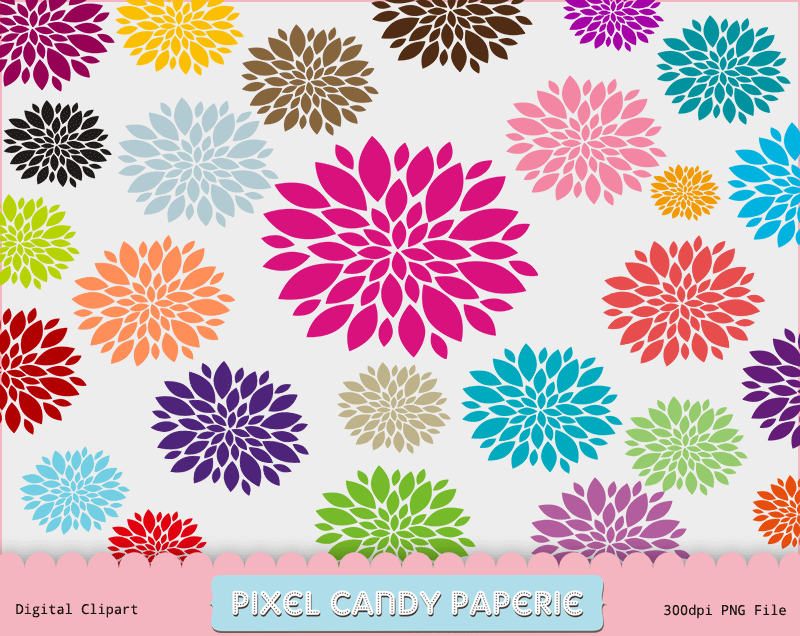 PCPaperie-Free-Flowers-Clip-Art-1