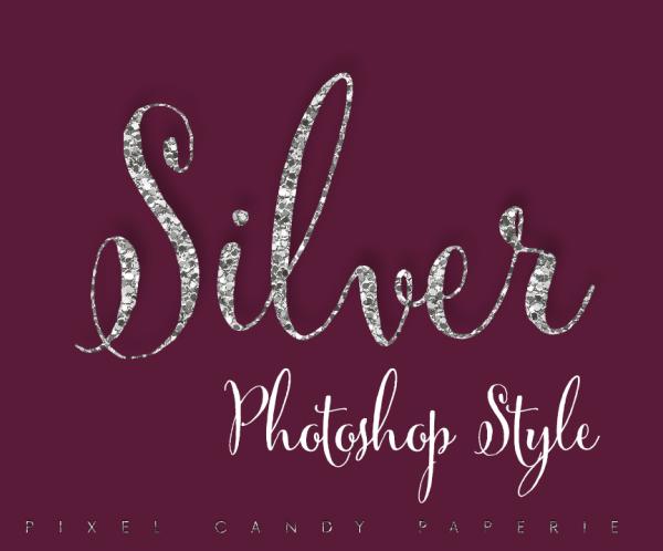 glitter photoshop style, silver photoshop style, sparkle style, sparkle photoshop style, sparkle logo, glitter logos,