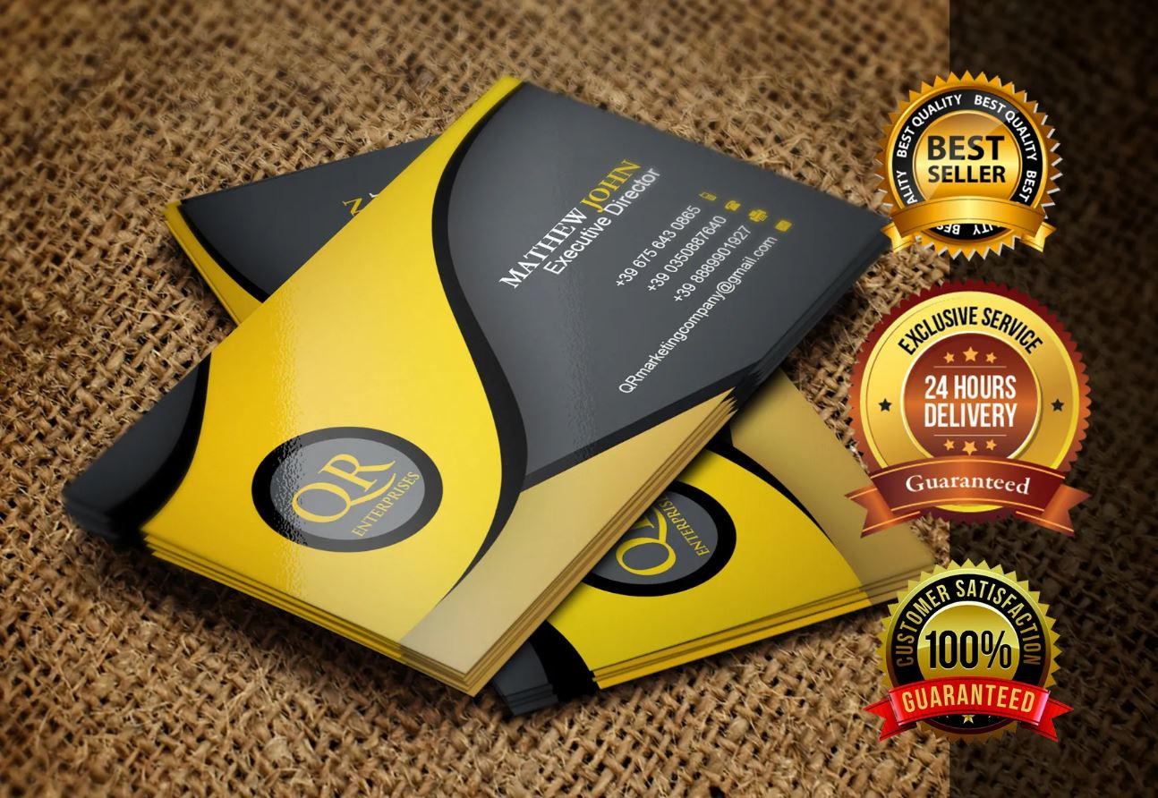 Do A Professional Business Card Design Within 24 Hours for ...