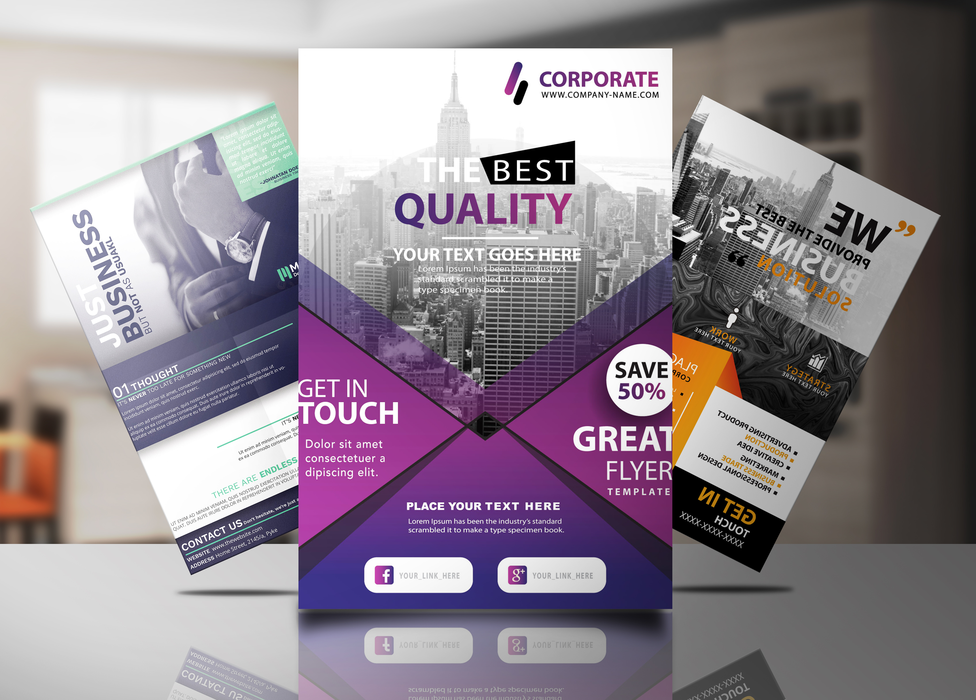 High Quality Professional FlyerPosterBrochure Design For