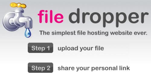 file dropper - captura de pantalla
