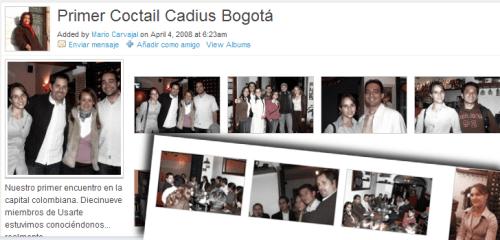 Fotos del primer Coctail Cadius Bogotá