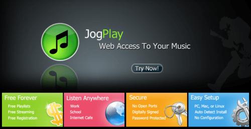 JogPlay - servicio para alojar y escuchar música online