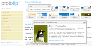 Prototip 2 biblioteca para implementar tooltips