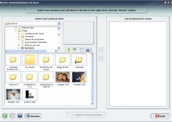 MobaPhoto - Interfase | Captura de pantalla