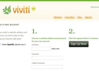 Registro Viviti - Interfaz | Captura de pantalla