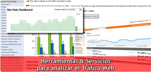 Herramientas y servicios para analizar el trafico web