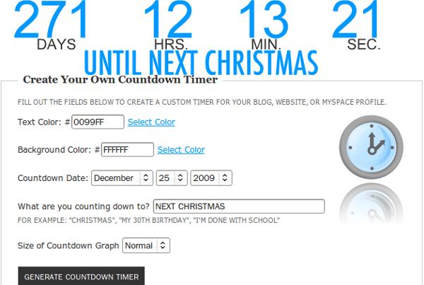 Flash Countdown Timer Generator