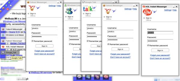 WeBuzz.im - Varios servicios