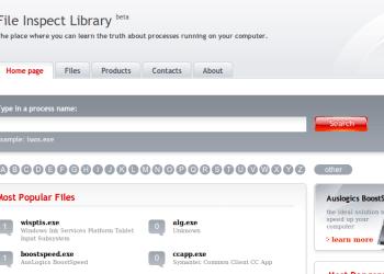File Inspect Process - Interfaz