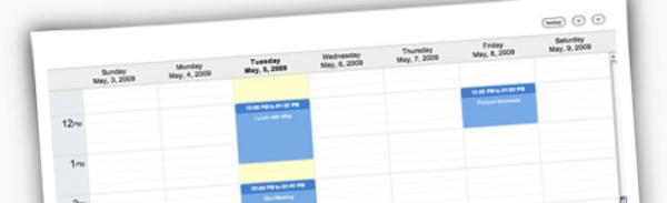 jQuery-Week-Calendar