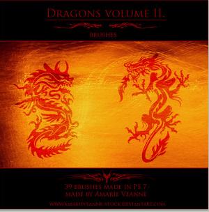 dragons-brushes