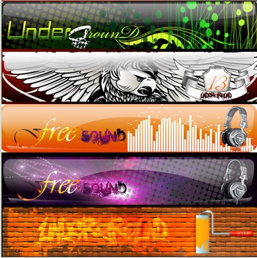 under-banners