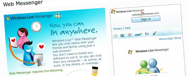 web-messenger