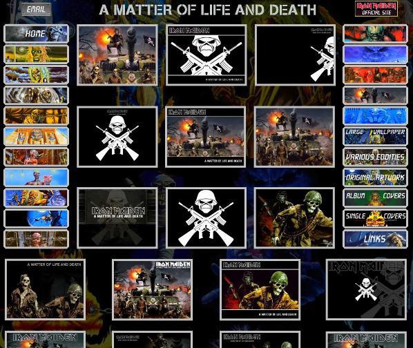 2 wallpapers de Iron Maiden el mejor sitio