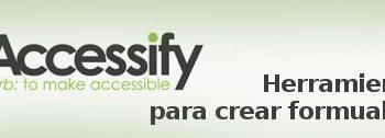 Accessify - Crear-formularios-web