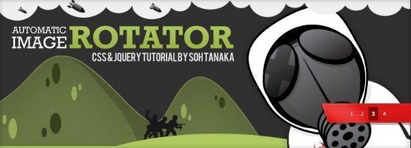 Auto Image Rotator - Con CSS y jQuery