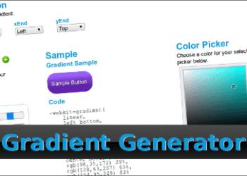 CSS3 Gradient Generator