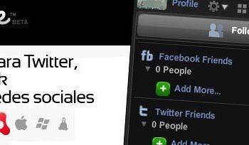 Nomee - Cliente Adobe Air para Twitter, Facebook y otras redes sociales