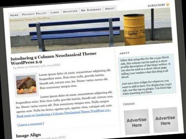 2010-2-Column-Neoclassical-Theme-Wordpress