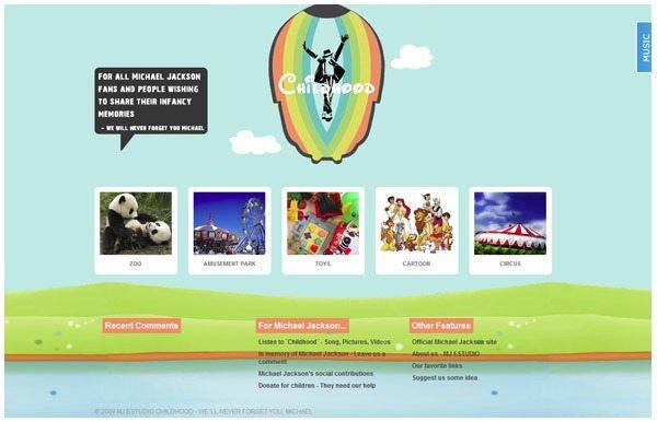 Download-wordpress-theme-MICHAEL-JACKSON-CHILDHOOD