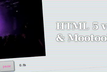 HTML 5 video & Mootools