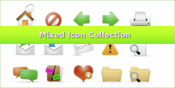 Mixed Icon Collection