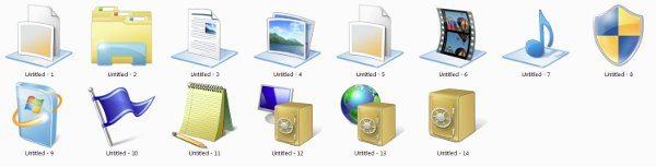 Windows Seven 6956 Icons