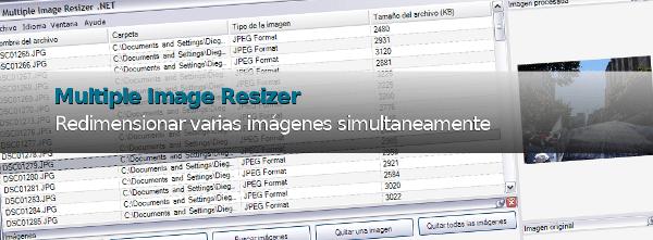 Multiple Image Resizer