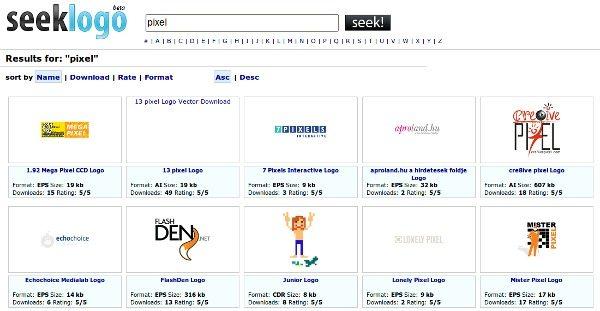 Seeklogo Interfaz - Resultado búsqueda