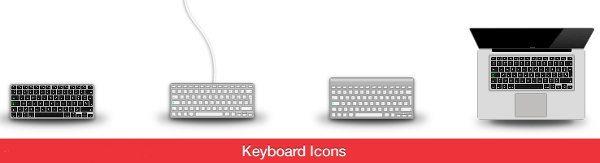 Keyboard - Icons