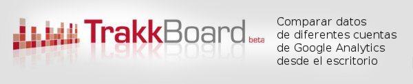 Trackboard - Compara cuentas distindas de Google Analytics