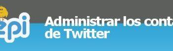 Tweepi - Administrar los contactos de Twitter