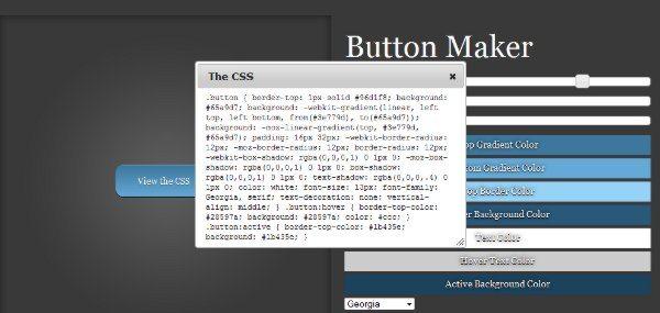 Button Maker - Interfaz