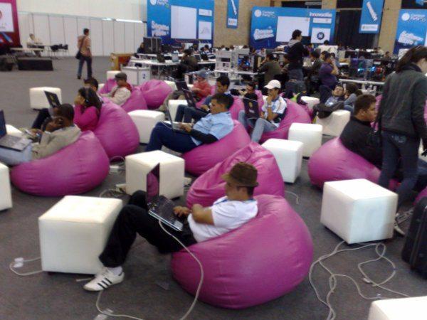 Campus Party - Participantes