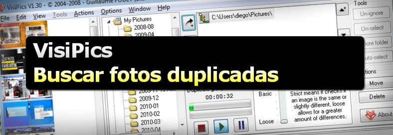 VisiPics - Programa freeware para buscar fotos duplicadas