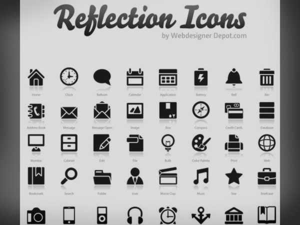 Reflection Icons