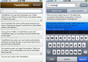 TweetSheet para iPhone, iPod y iPad