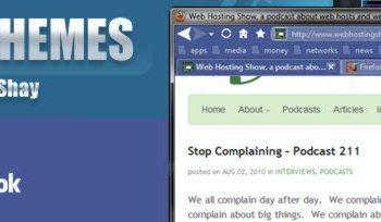 Firefox Theme - Facebook