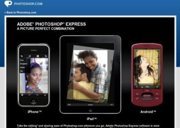 Photoshop Express para el iPad, iPhone y Android