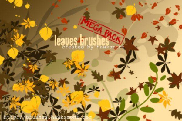 Leaves-brushes-free-Photoshop-brushes