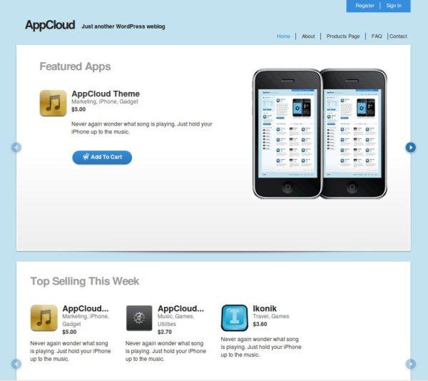 AppCloud-free-WordPress-theme