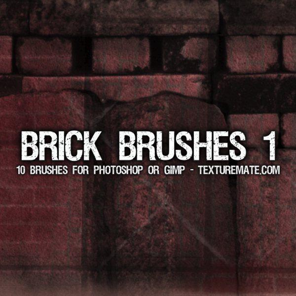 Brick Brushes 1 para Photoshop
