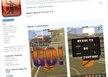 iBasketball-free-iPhone-game