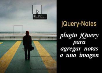 jQuery-Notes - Plugin jQuery para agregar notas a una imagen