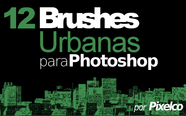 12 Brushes urbanas para Photoshop por Pixelco