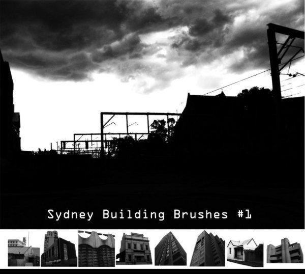 Sydney-Urban-Building-brushes-set-1-for-Photoshop