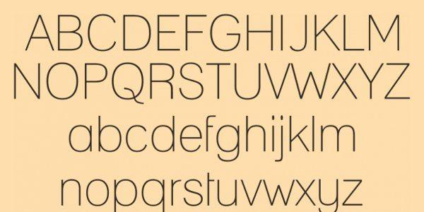 Lane free font