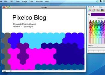 Paintbrush aplicacion para dibujar gratuita para Mac