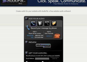 AudioPal - interfaz
